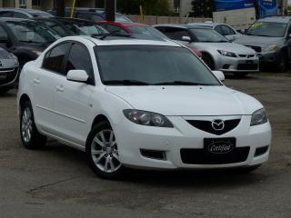 Used 2008 Mazda MAZDA3 1-OWNER,NO-ACCIDENTS,SUNROOF,LOADED,LOW KMS,ALLOYS for sale in Mississauga, ON