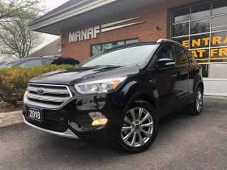 Used 2018 Ford Escape Titanium 4WD Navi Panoramic Sun Rear Cam Certified for sale in Concord, ON
