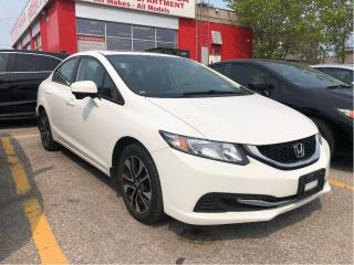 Used 2015 Honda Civic EX, one owner, power roof for sale in Toronto, ON