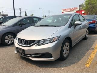 Used 2015 Honda Civic LX, one owner, great price for sale in Toronto, ON
