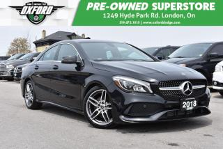 Used 2018 Mercedes-Benz CLA-Class 4MATIC - Dual Auto Climate Control, Back-Up, GPS, for sale in London, ON