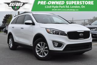 Used 2018 Kia Sorento 2.4L LX - Roof Rack, UConnect/Bluetooth, Sat Radio for sale in London, ON