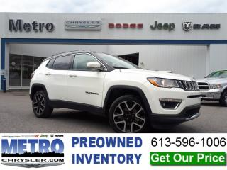 Used 2018 Jeep Compass LIMITED for sale in Ottawa, ON