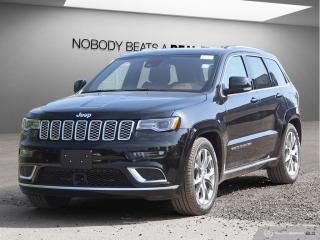 New 2019 Jeep Grand Cherokee Summit 4x4 for sale in Mississauga, ON