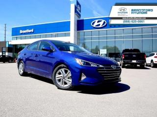 New 2020 Hyundai Elantra Preferred w/Sun & Safety Package IVT  - $135.64 B/W for sale in Brantford, ON