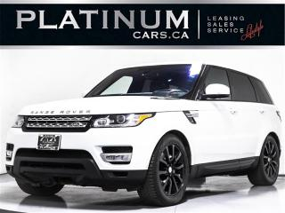 Used 2016 Land Rover Range Rover Sport HSE Td6 7 PASSENGER, NAVI, PANO, CAM for sale in Toronto, ON