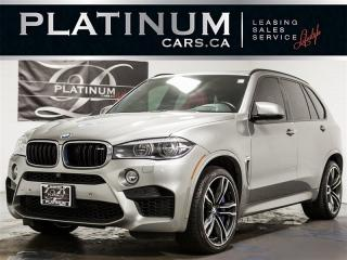 Used 2016 BMW X5 M 567HP, NAVI, Heads UP, Exec PKG, PANO, RED Lthr X5 M for sale in Toronto, ON
