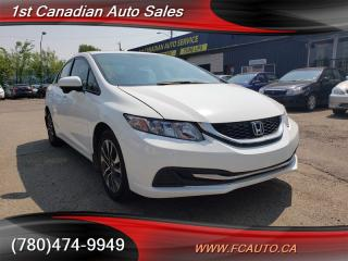 Used 2014 Honda Civic LX-SUNROOF-BACKUP CAMERA-LOW Monthly PAYMENTS!! for sale in Edmonton, AB