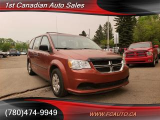 Used 2012 Dodge Grand Caravan SE-STOW N GO-NO ACCIDENTS-LOW Monthly PAYMENTS!! for sale in Edmonton, AB