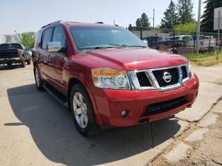 Used 2008 Nissan Armada PLATINUM-DVD-7 PASSENGER-LOW Monthly PAYMENTS!! for sale in Edmonton, AB