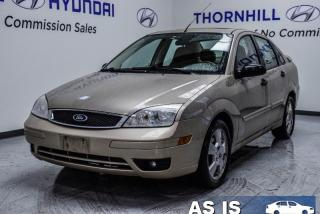 Used 2007 Ford Focus S  - Trade-in -  - Air - Power Locks for sale in Thornhill, ON