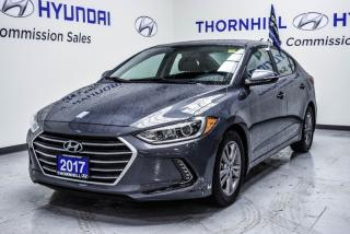 Used 2017 Hyundai Elantra GL  - Low Mileage for sale in Thornhill, ON