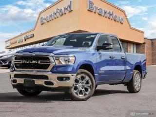 New 2019 RAM 1500 Big Horn  - Remote Start - Uconnect - $289.22 B/W for sale in Brantford, ON