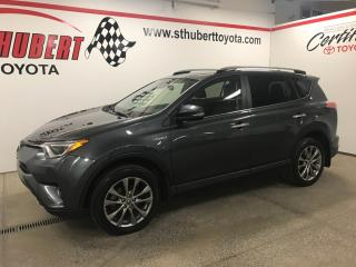 Used 2018 Toyota RAV4 Limited, HYBRIDE, FULL! for sale in St-Hubert, QC