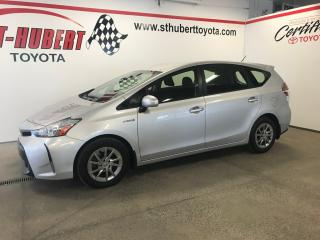 Used 2017 Toyota Prius V Hybride for sale in St-Hubert, QC