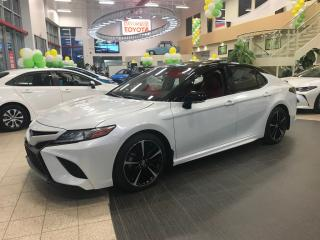 Used 2018 Toyota Camry Xse V6 Cuir Rouge for sale in St-Hubert, QC