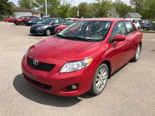 Used 2010 Toyota Corolla LE GRP LUXE for sale in Québec, QC