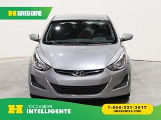 Used 2015 Hyundai Elantra GL A/C GR ELECT for sale in St-Léonard, QC