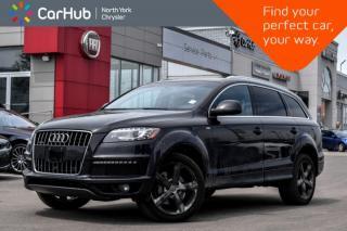 Used 2014 Audi Q7 3.0T Technik|Pano_Sunroof|BOSE|GPS|Bluetooth|Backup_Cam|Heat.Frnt.Seats| for sale in Thornhill, ON