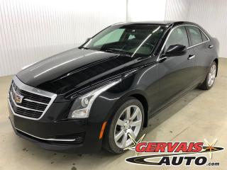 Used 2015 Cadillac ATS Cuir Audio Bose Mags for sale in Shawinigan, QC