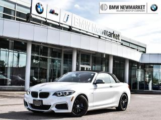 Used 2018 BMW M2 40i xDrive Cabriolet -CLEARANCE PRICE!! BRAND NEW UNIT!! for sale in Newmarket, ON