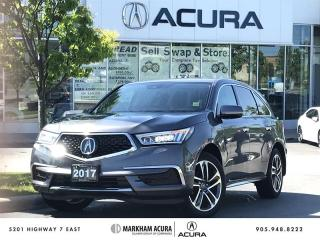 Used 2017 Acura MDX Navi SH-AWD, AcuraWatch Safety Tech, Pwr Liftgate for sale in Markham, ON