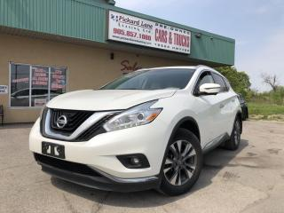 Used 2016 Nissan Murano SL $80.08 WEEKLY! $0 DOWN! CERTIFIED!!! for sale in Bolton, ON