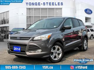 Used 2014 Ford Escape SE - ONE OWNER!! REVERSE CAMERA!! NEW PRICE!! for sale in Thornhill, ON