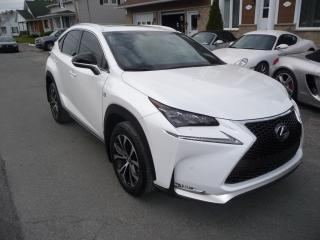 Used 2015 Lexus NX 200t F-SPORT for sale in Ste-Marie, QC