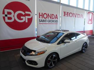 Used 2015 Honda Civic SI for sale in St-Georges, QC
