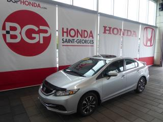 Used 2015 Honda Civic EX for sale in St-Georges, QC