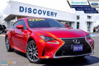 Used 2016 Lexus RC 300 300 for sale in Burlington, ON