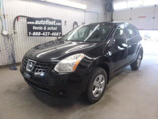 Used 2010 Nissan Rogue S M, AIR, $40.32/sem+taxes for sale in St-Raymond, QC