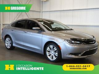 Used 2015 Chrysler 200 LTD CAMERA for sale in St-Léonard, QC