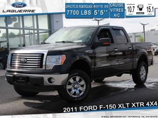 Used 2011 Ford F-150 Xlt Xtr 4x4 Cruise for sale in Victoriaville, QC