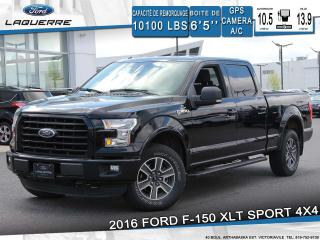 Used 2016 Ford F-150 Xlt Sport 4x4 Gps for sale in Victoriaville, QC