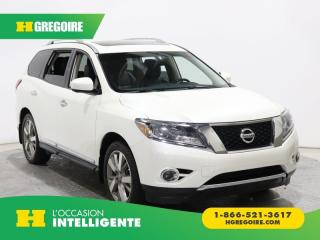 Used 2016 Nissan Pathfinder PLATINUM A/C CUIR for sale in St-Léonard, QC