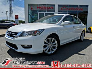 Used 2015 Honda Accord 4 portes V6 automatique Touring for sale in Sorel-Tracy, QC