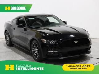 Used 2016 Ford Mustang ECOBOOST BAS KILOMÈ for sale in St-Léonard, QC