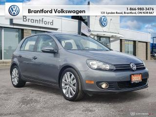 Used 2013 Volkswagen Golf 5-Dr Wolfsburg Edition 2.0 TDI DSG at w/ Tip for sale in Brantford, ON