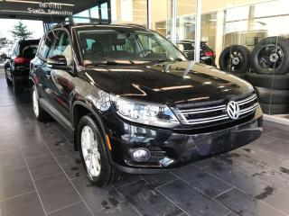 Used 2015 Volkswagen Tiguan ACCIDENT FREE, POWER HEATED LEATHER SEATS, SKYROOF, REAR VIEW CAMERA for sale in Edmonton, AB
