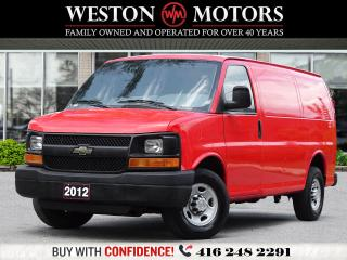 Used 2012 Chevrolet Express 2500 4.8L*SHELVING!!*READY FOR WORK!!* for sale in Toronto, ON