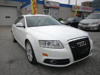 Used 2011 Audi A6 Accident Free_Quattro 3.0L_Navi_Camera_Sunroof for sale in Oakville, ON
