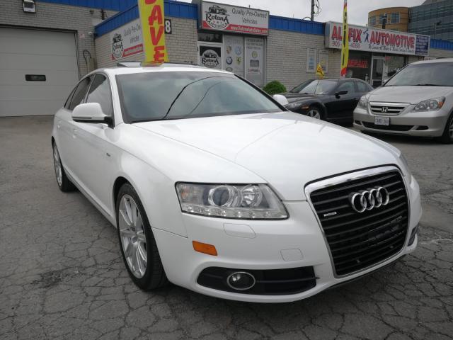 2011 Audi A6 Accident Free_AWD_Navi_Camera_Sunroof