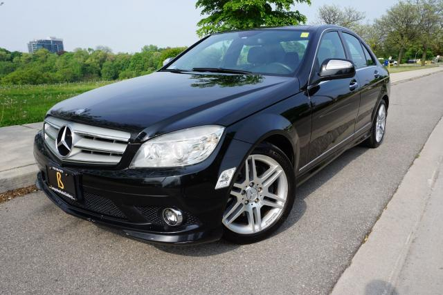 2008 Mercedes-Benz C-Class 1 OWNER / NO ACCIDENTS / LOADED / LOW KM'S / LOCAL