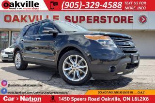 Used 2014 Ford Explorer LIMITED | PANO ROOF | NAV | B/U CAM | RMT START for sale in Oakville, ON