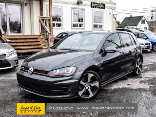 Used 2015 Volkswagen GTI Autobahn LEATHER PANO ROOF BK.CAM WOW!! for sale in Ottawa, ON