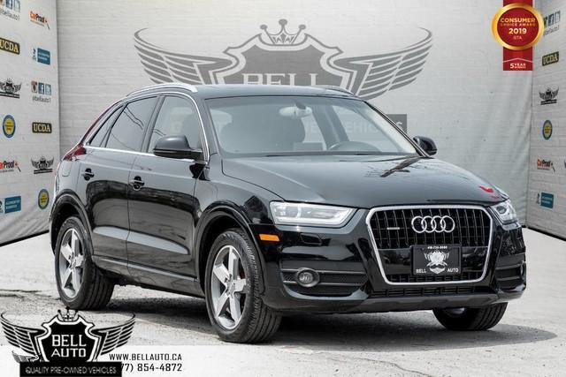 2015 Audi Q3 Progressiv, AWD, NAVI, PANO ROOF, LEATHER, BLUETOOTH