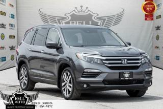 Used 2016 Honda Pilot Touring, 7 PASS, NAVI, PANO ROOF, PUSH START, BLIND SPOT, DVD for sale in Toronto, ON