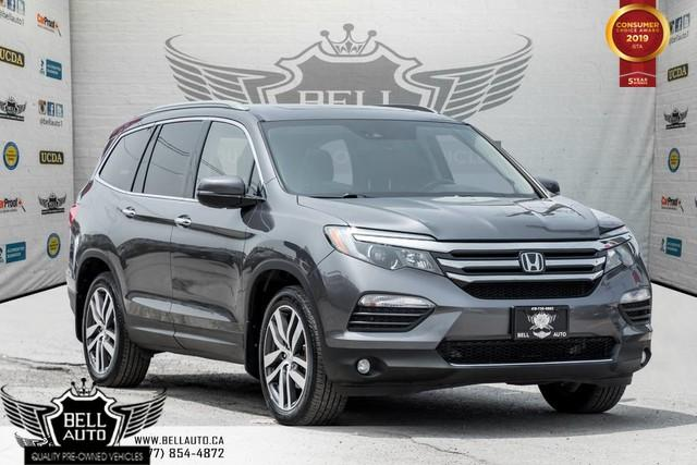 2016 Honda Pilot Touring, 7 PASS, NAVI, PANO ROOF, PUSH START, BLIND SPOT, DVD
